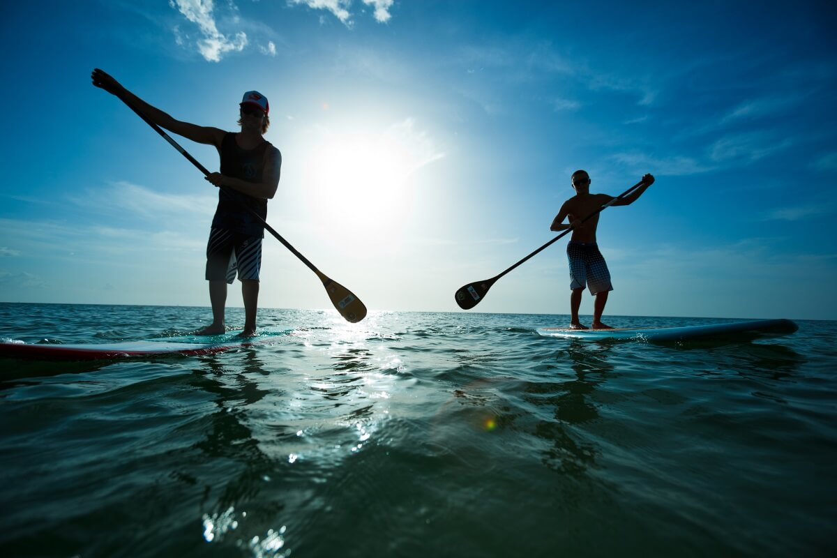 Paddle boarding Florida Keys