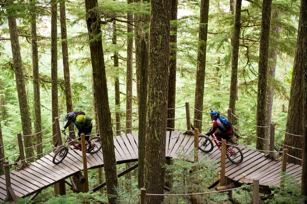Whistler Bike Park in Autumn