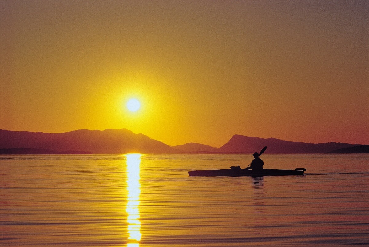 Kayaking San Juan Islands