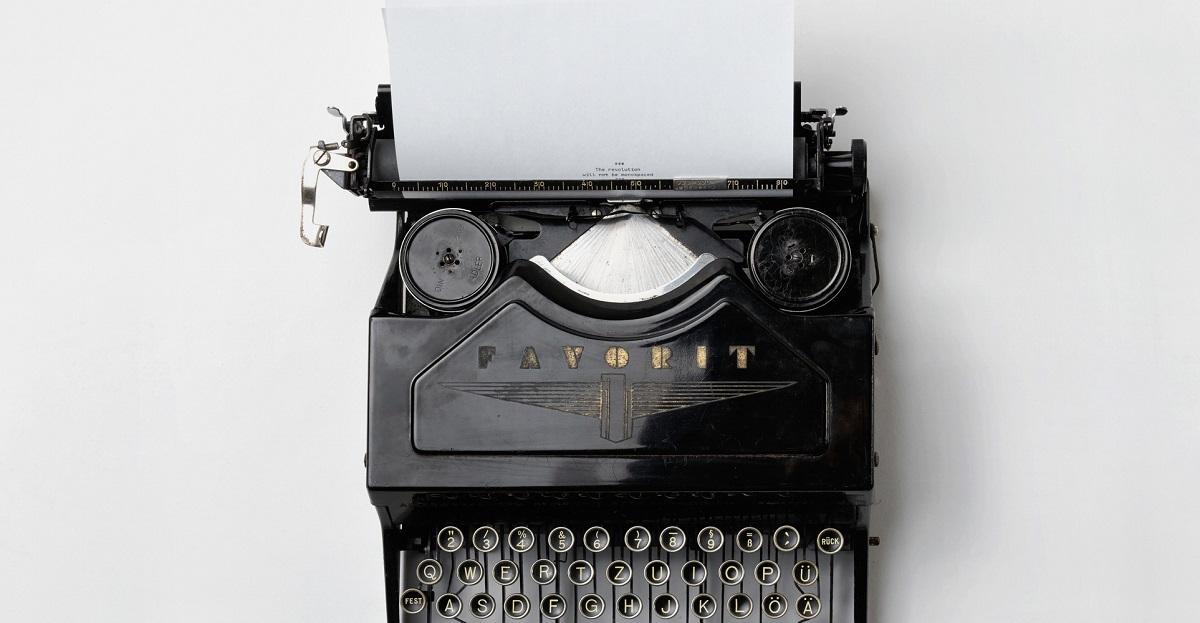 typewriter go be kind