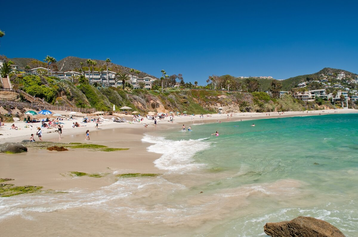 Laguna Beach winter vacation