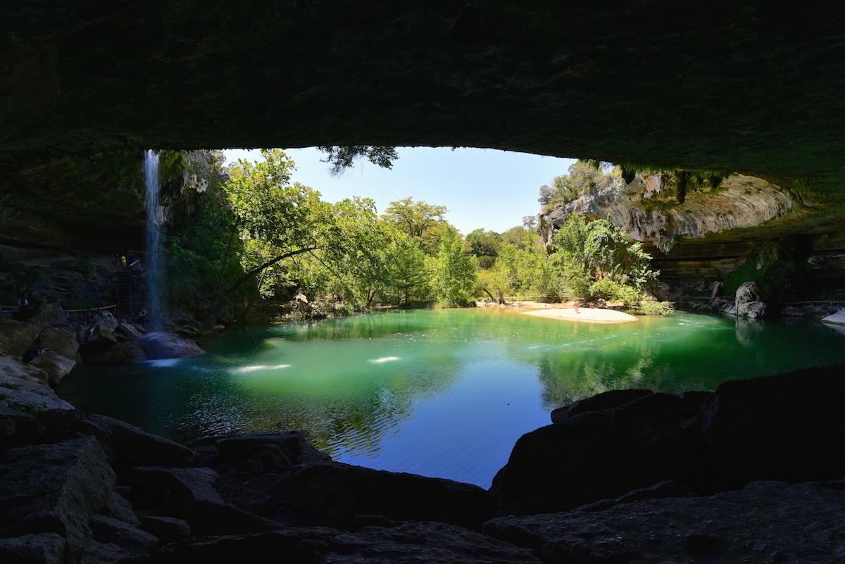 Hamilton pool- Austin