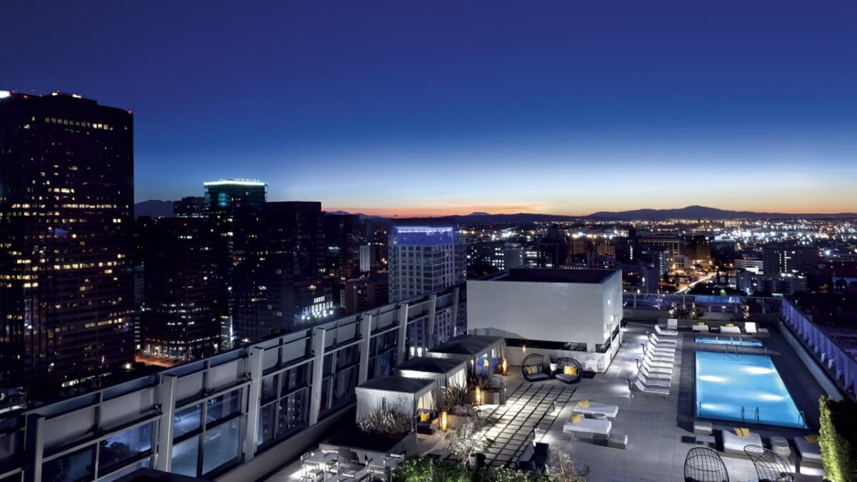 Luxury hotels in Los Angeles
