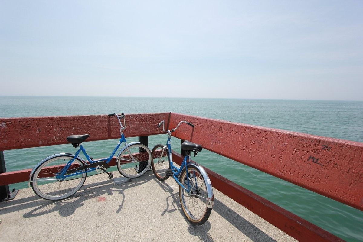Biking in Miami Beach