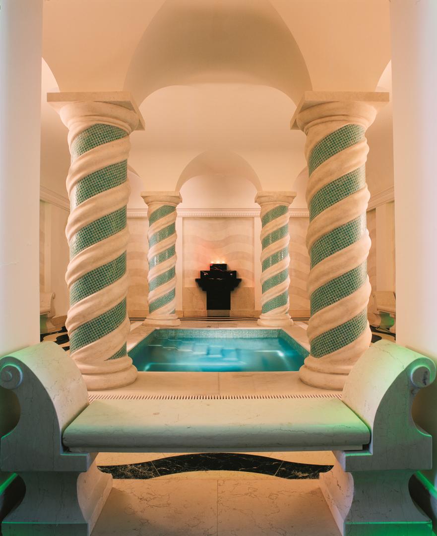 alojamientos con spa Spa del El Hotel Villa Padierna está en Marbella