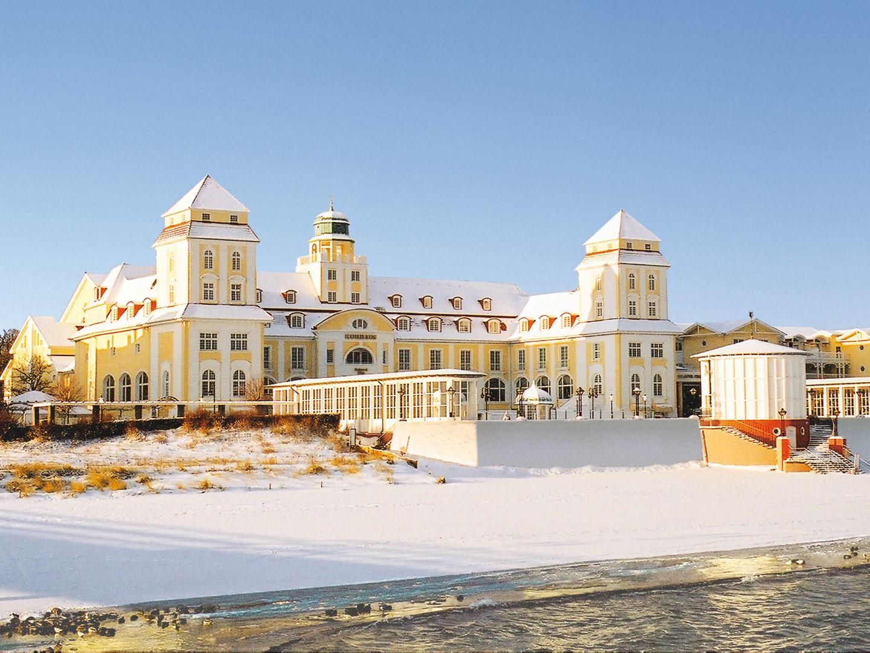 Hotel de playa Kurhaus Binz en Isla de Rügen