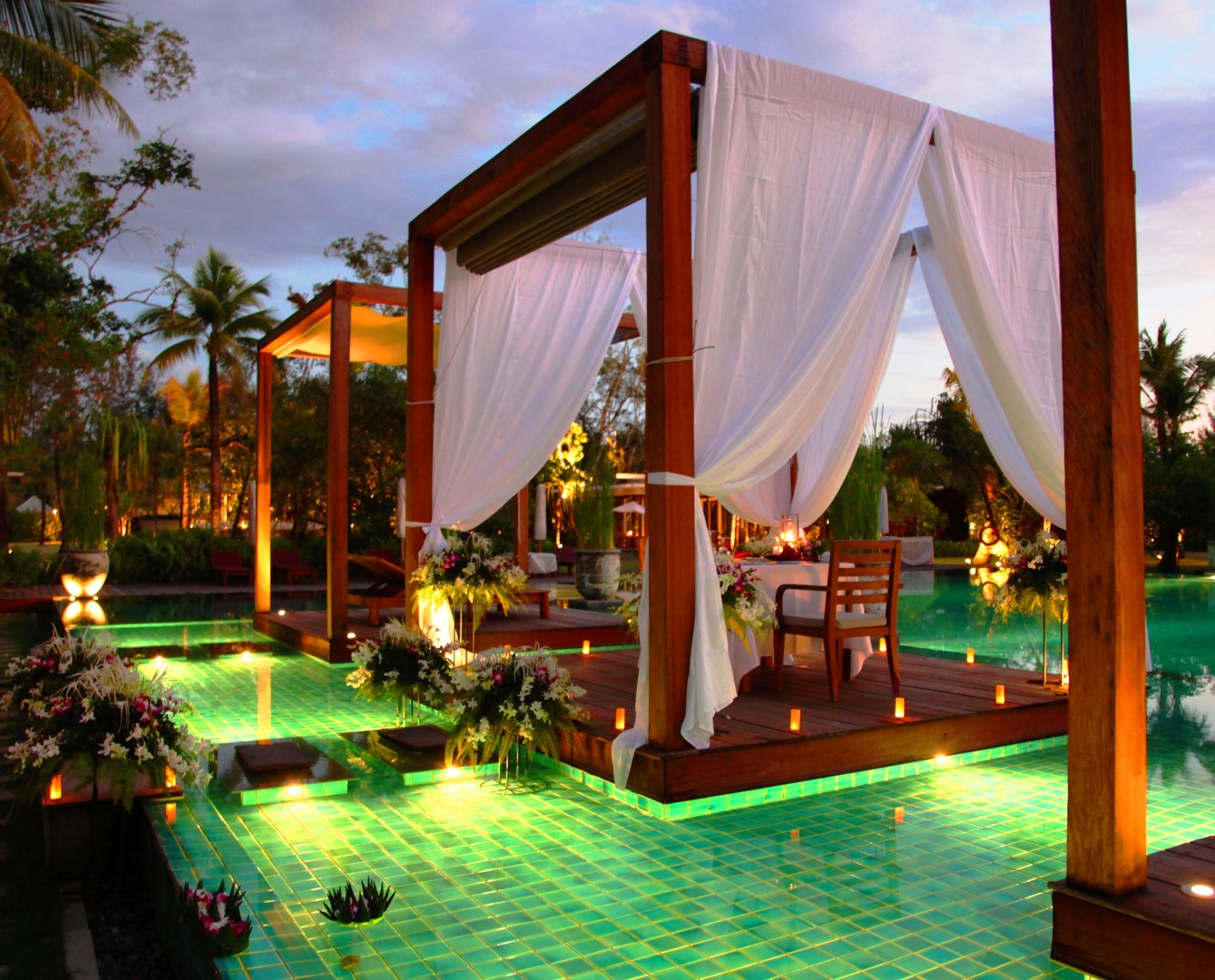 Hotel de playa The Sarojin Tailandia.