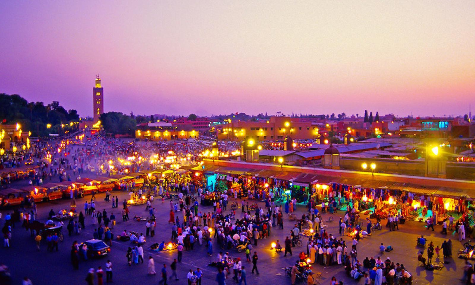 Los mejores 10 destinos para ir de fiesta del mundo Marrakech