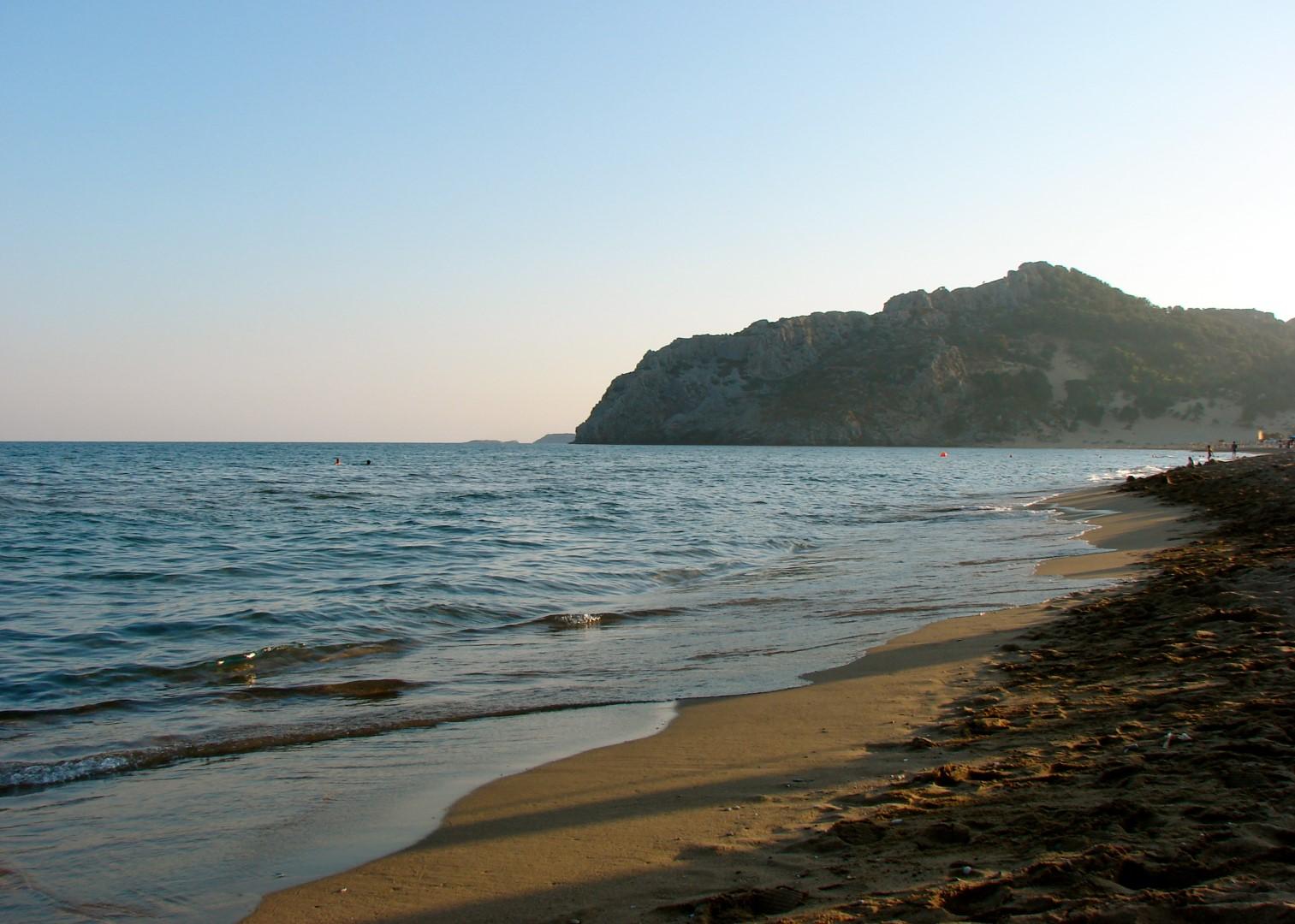Tsambika Beach (Rhodes) CC Mac Ind Óg