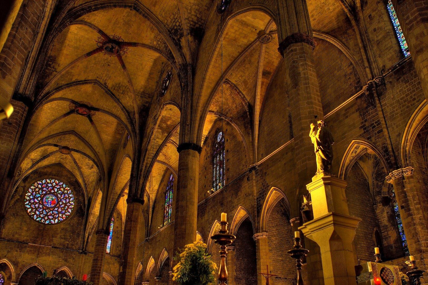 Spain_Barcelona_Iglesia Santa María del Mar