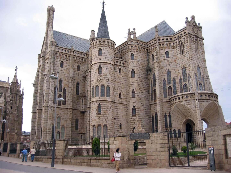 Spain_Castilla y Leon_Leon_Palacio Episcopal de Astorga