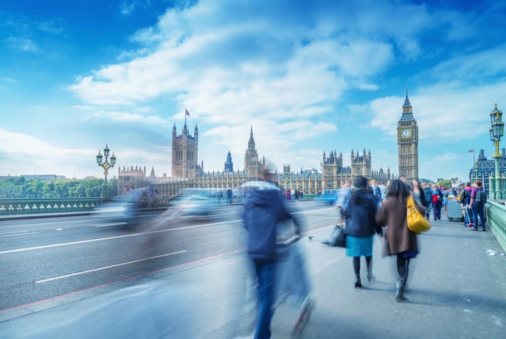 viajar en Semana Santa vista del big ben en Londres