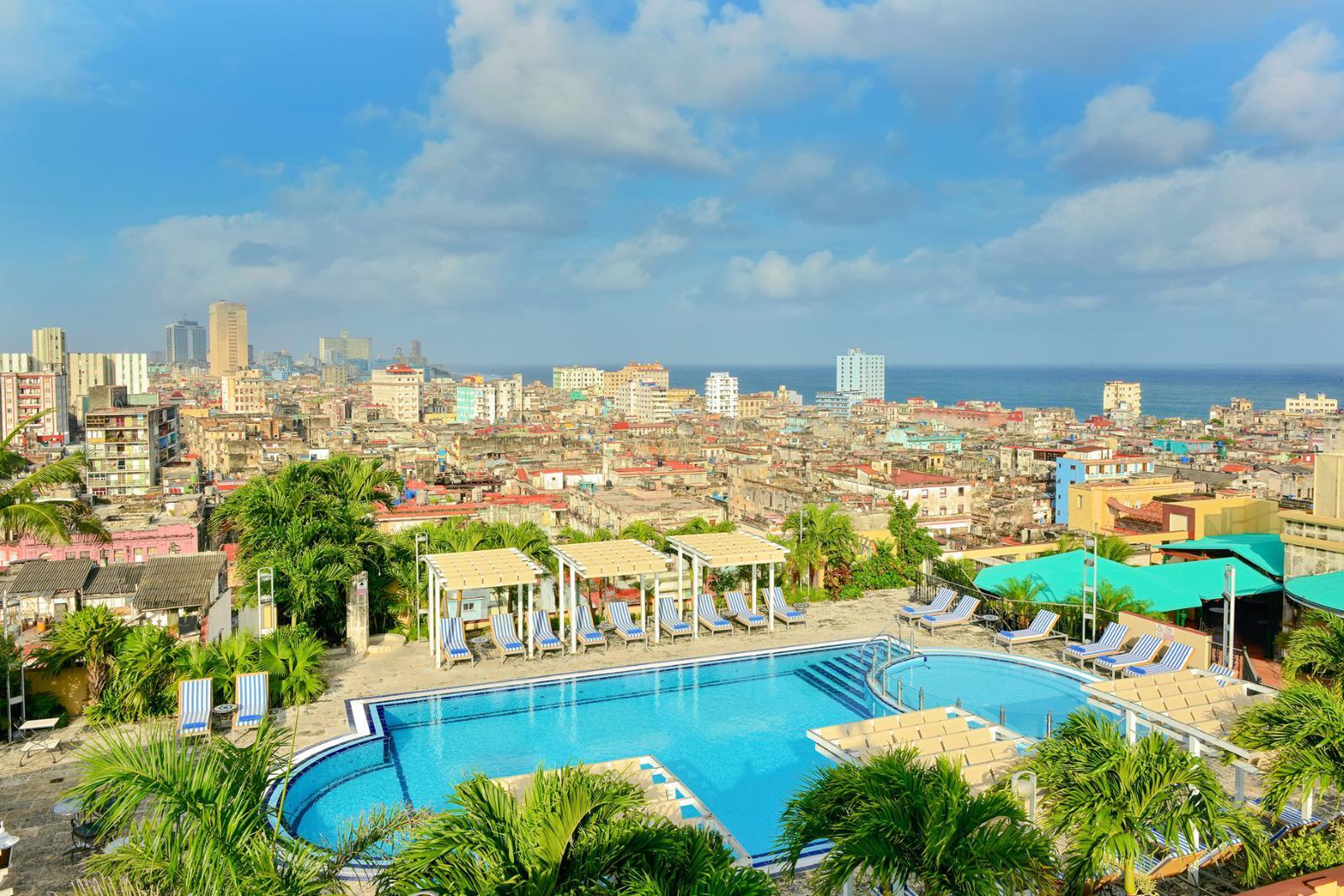 mejores terrazas de hoteles Iberostar la habana