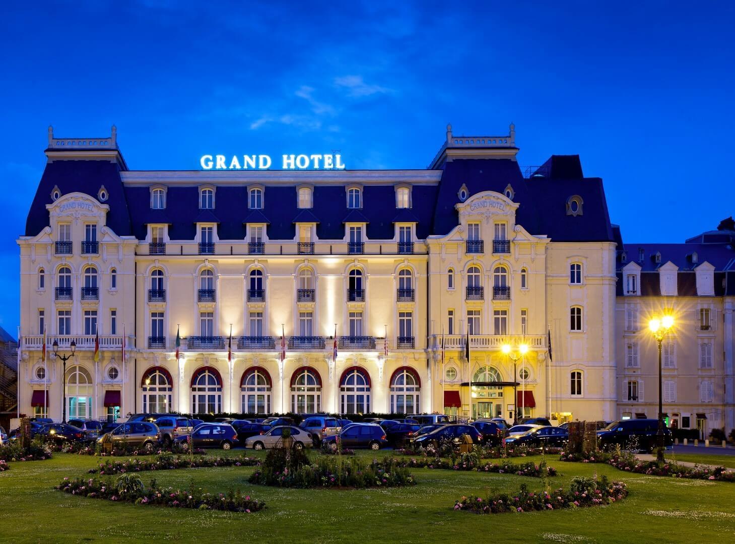 hoteles de película Grand Hotel