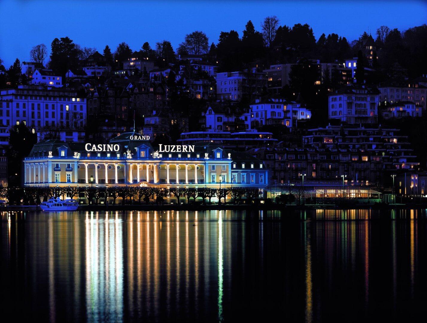 hoteles con casino Palace Luzern