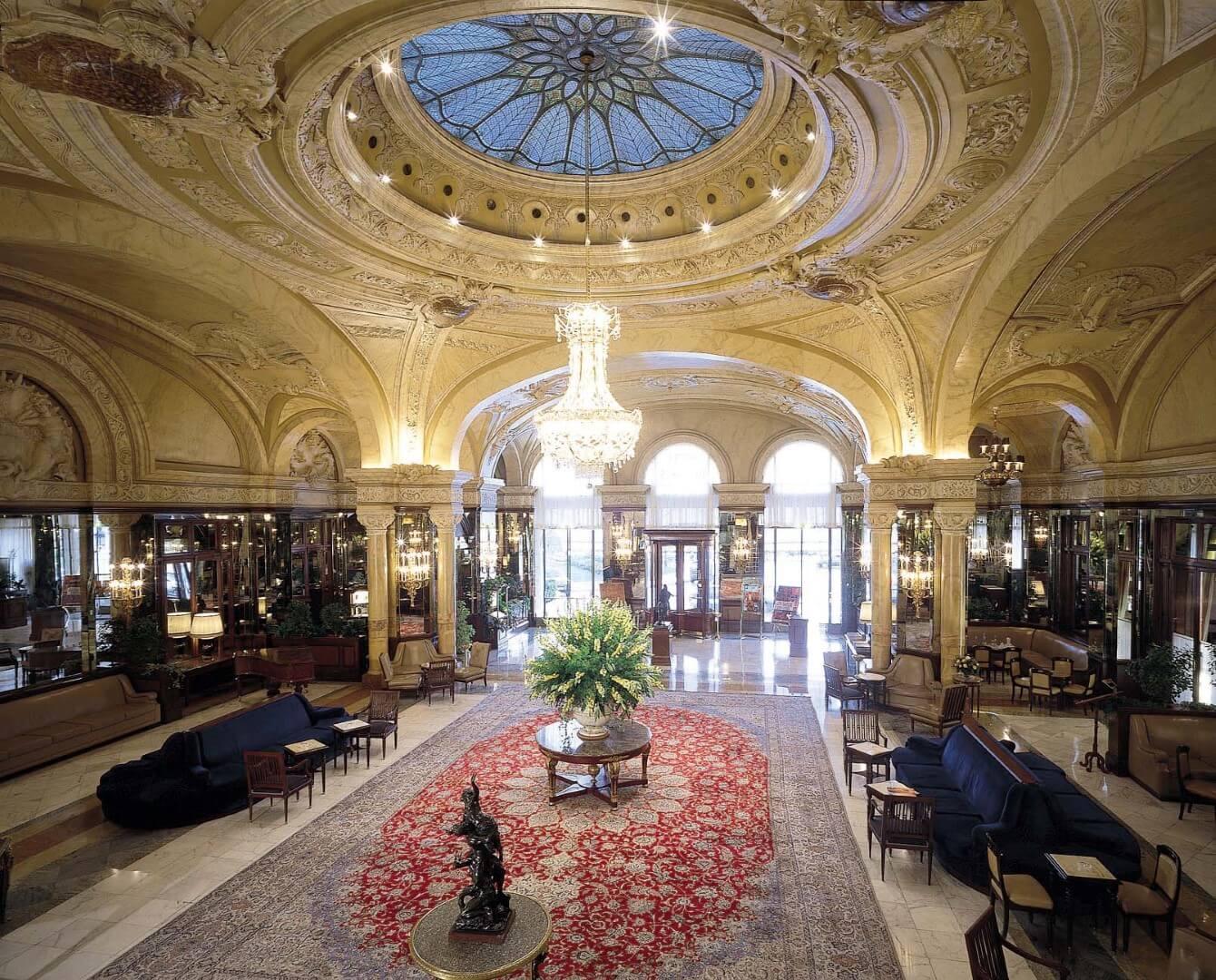 hoteles con casino Hotel de Paris