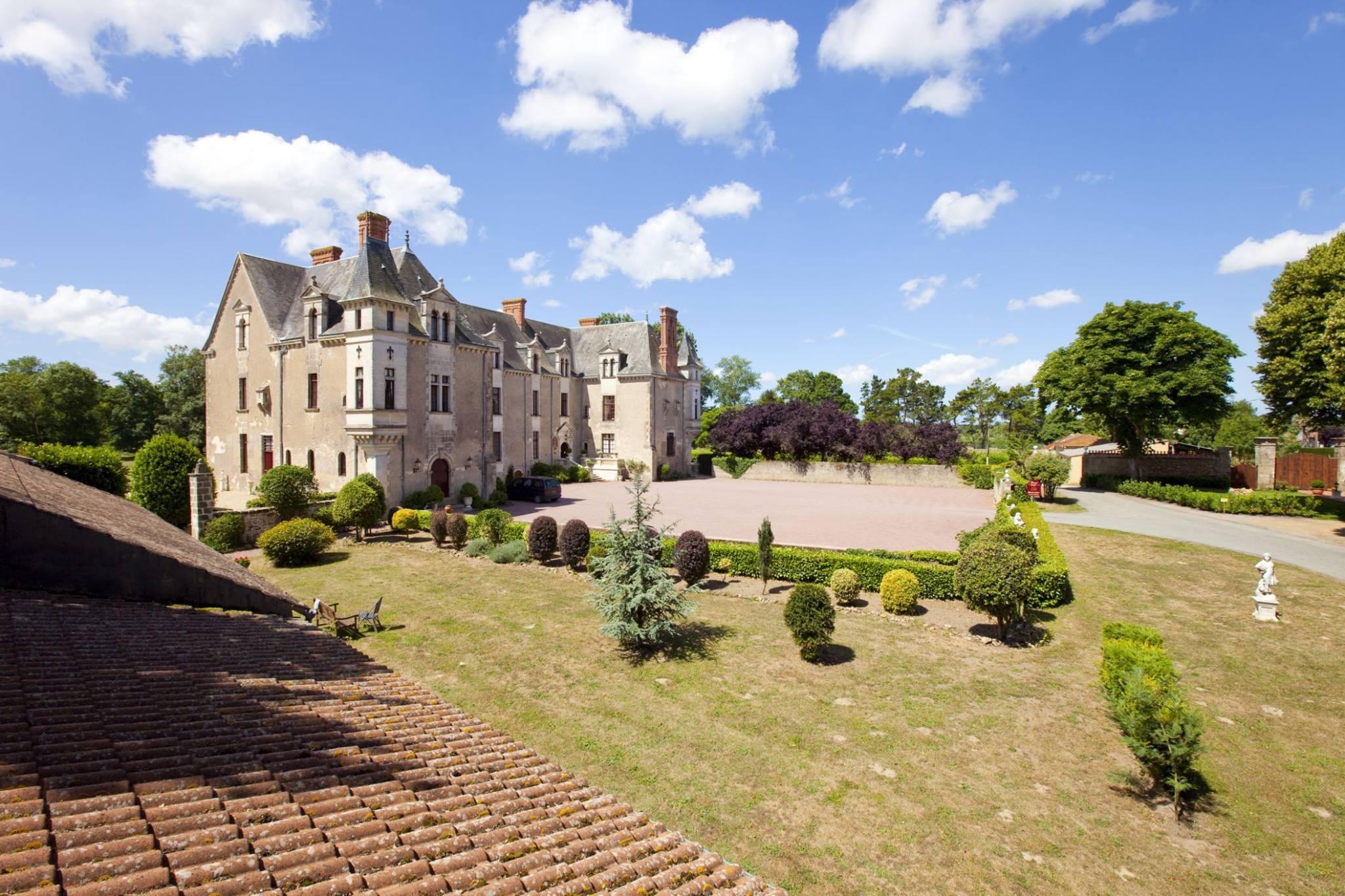 hoteles castillo Le Château de la Verie