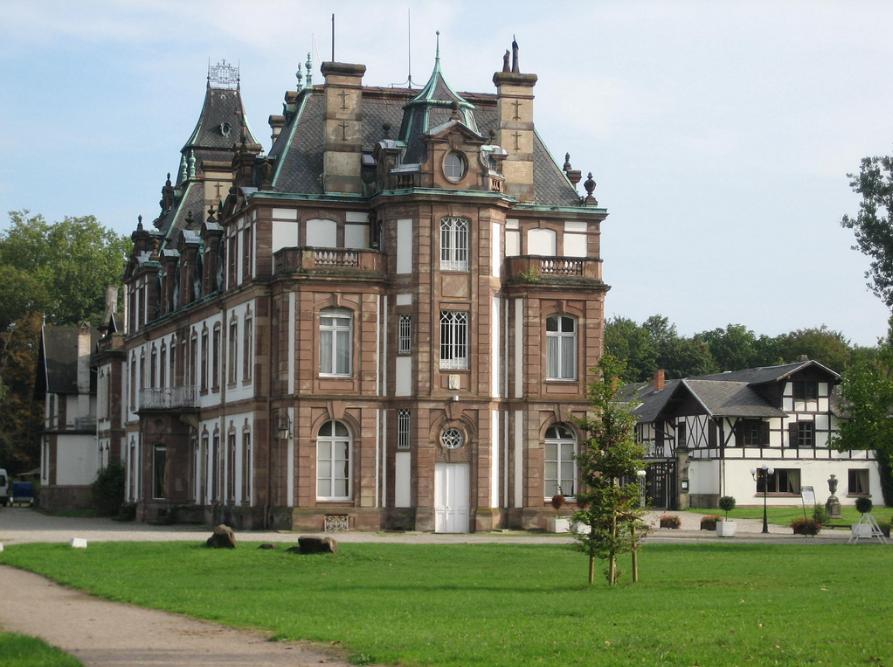 hoteles castillo Château de Pourtales, Francia