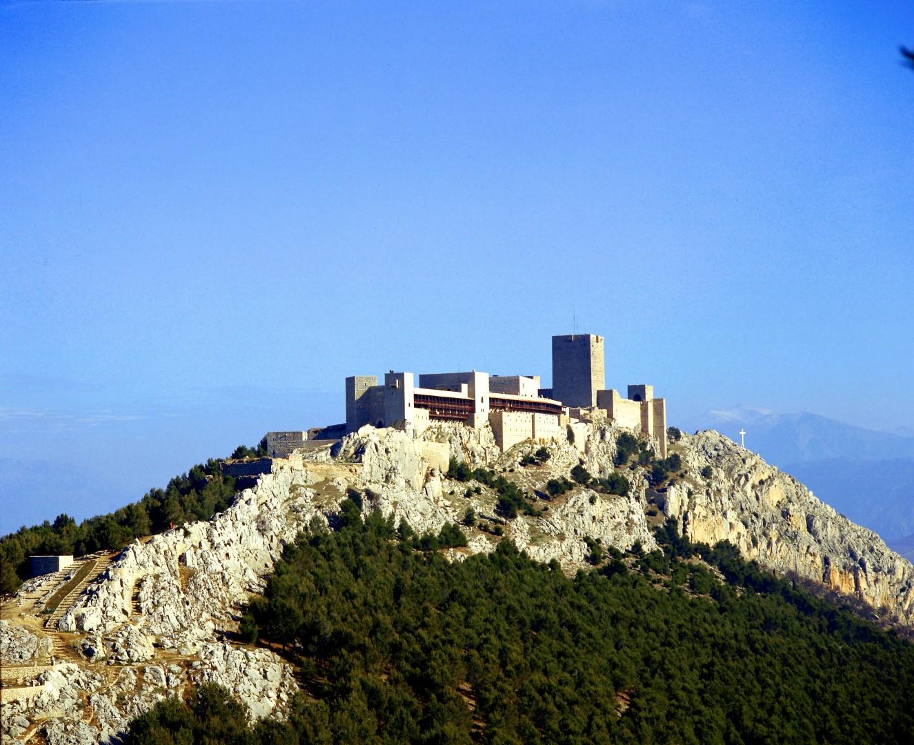 hoteles castillo Parador de Jaén
