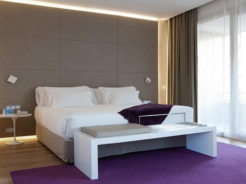 Habitación del Hotel NH Eurobuilding, Madrid