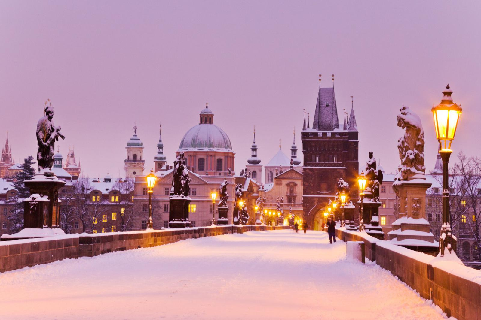 Charles bridge, Old Town bridge tower, Prague (UNESCO), Czech r