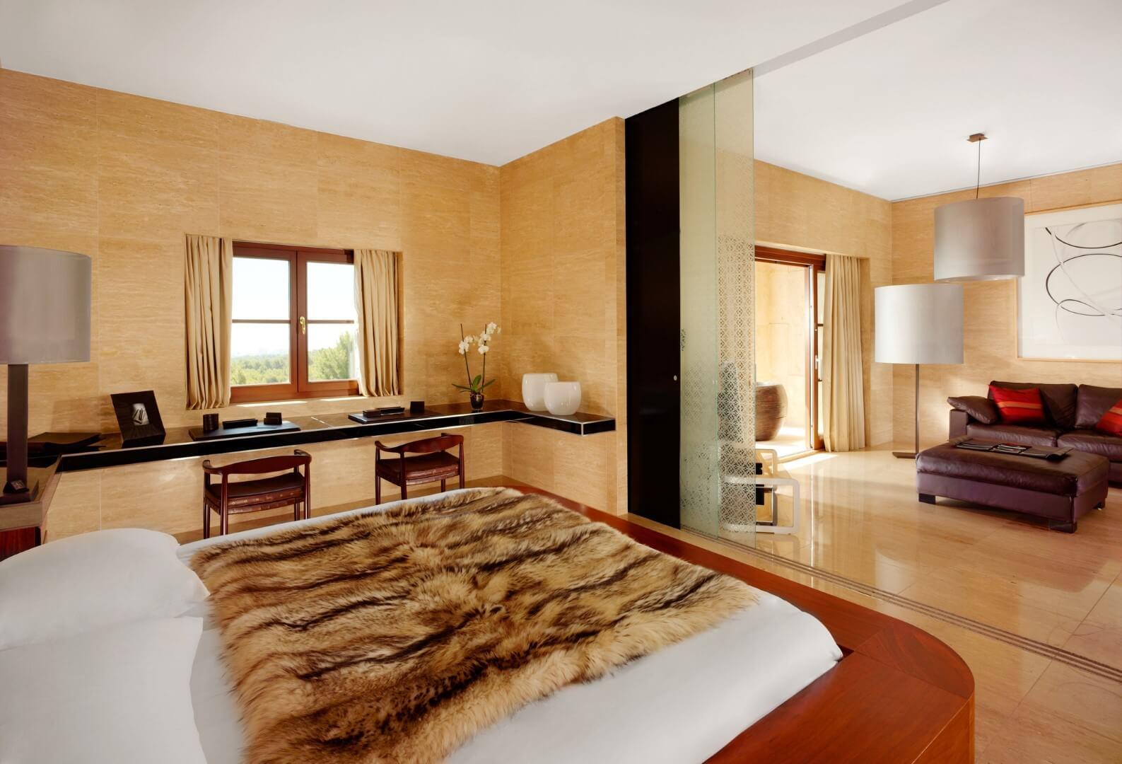 Habitacion - Hotel Castillo Son Vida - hotel de moda