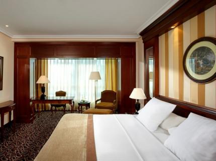 Habitación del Hotel Meliá Barajas, Madrid