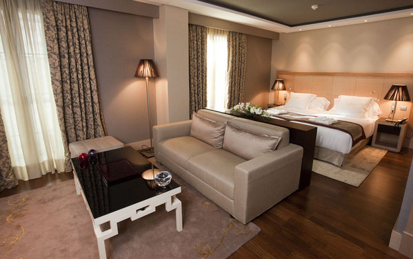 Habitación del Nexus Valladolid Suites & Hotel. Fotografía: www.nexusvalladolid.es