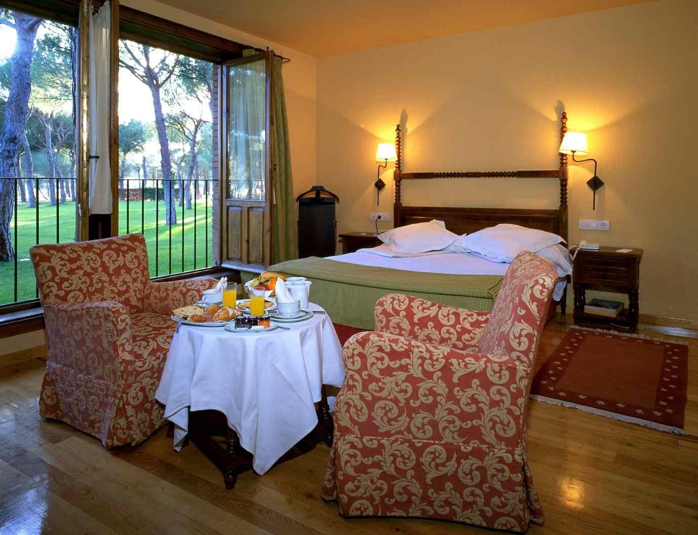 Habitación del Hotel Parador de Tordesillas