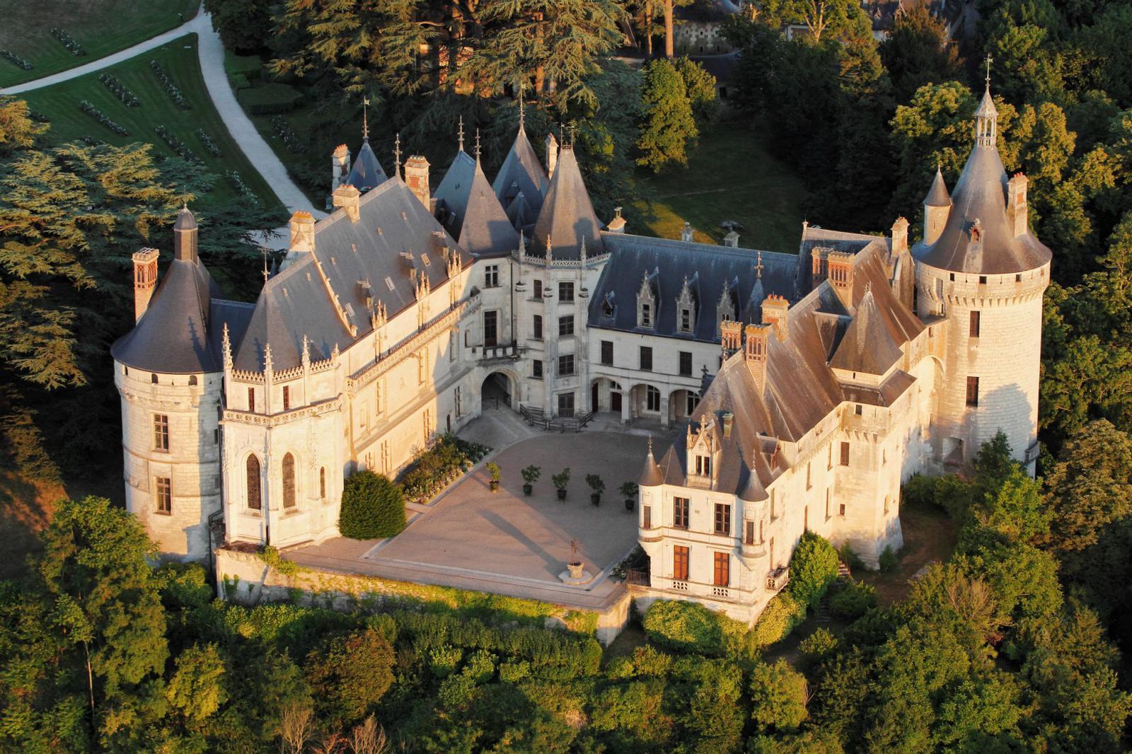 noche de halloween Castillo de Chaumont