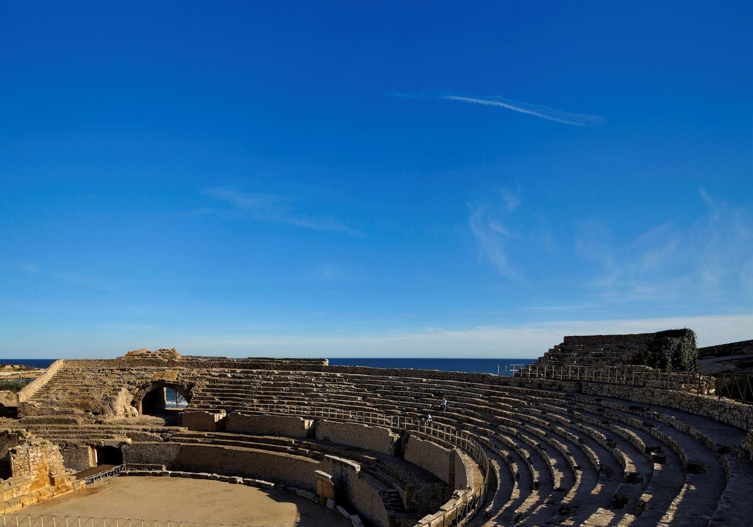 Amfiteatre romˆ, Patrimoni Mundial UNESCO,Tarragona, Tarragons, Tarragona