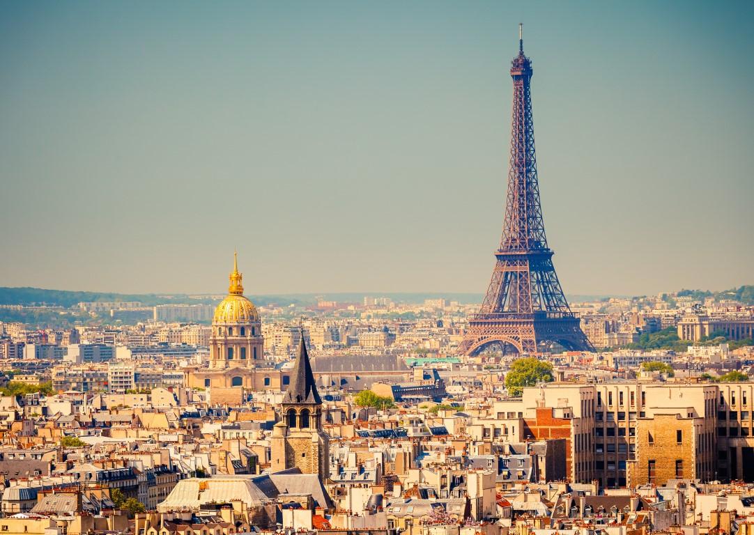 vuelta al mundo en 80 días Vista general de la ciudad de París.