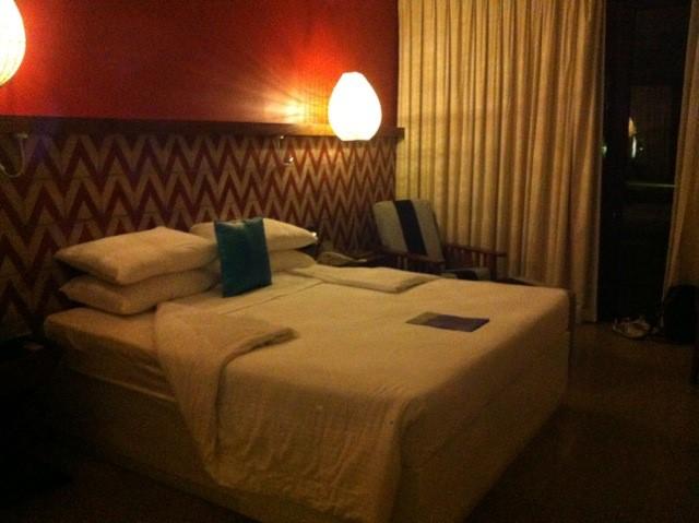 Habitación del hotel Cinnamon Bey Beruwala.