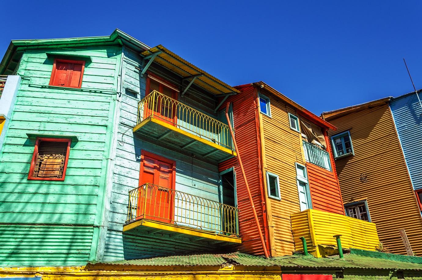 donde viajar en 2014 Bright Colors in Buenos Aires