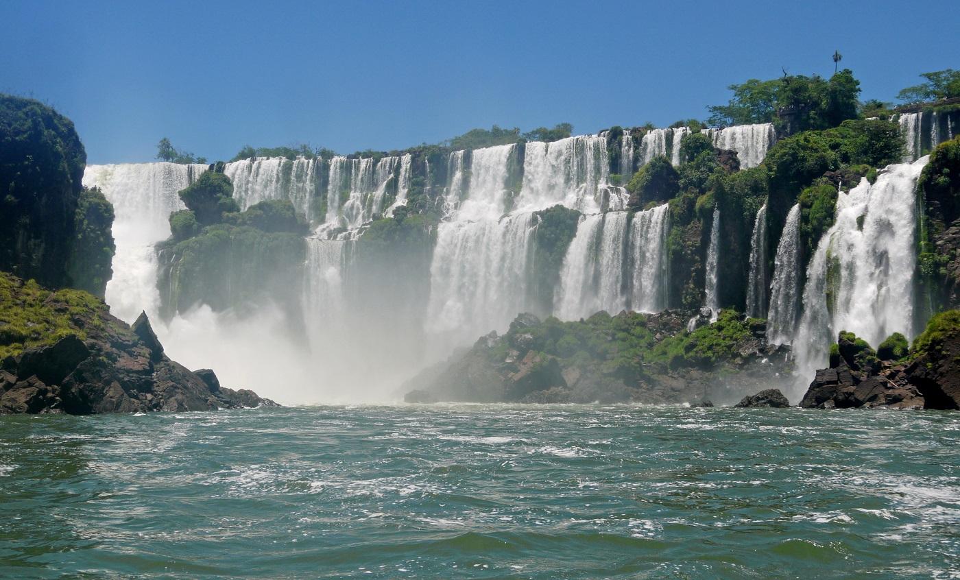 donde viajar en 2014 Iguacu Wasserfälle Brasillien