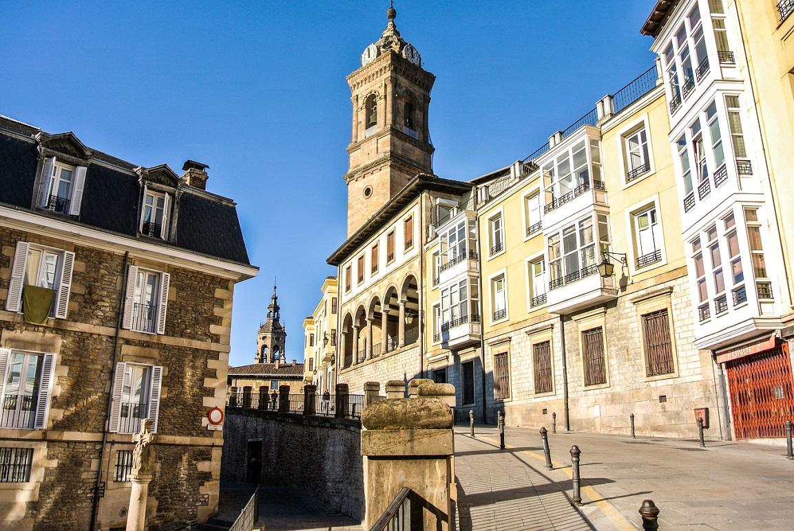 donde viajar en 2014 Casco Viejo de Vitoria