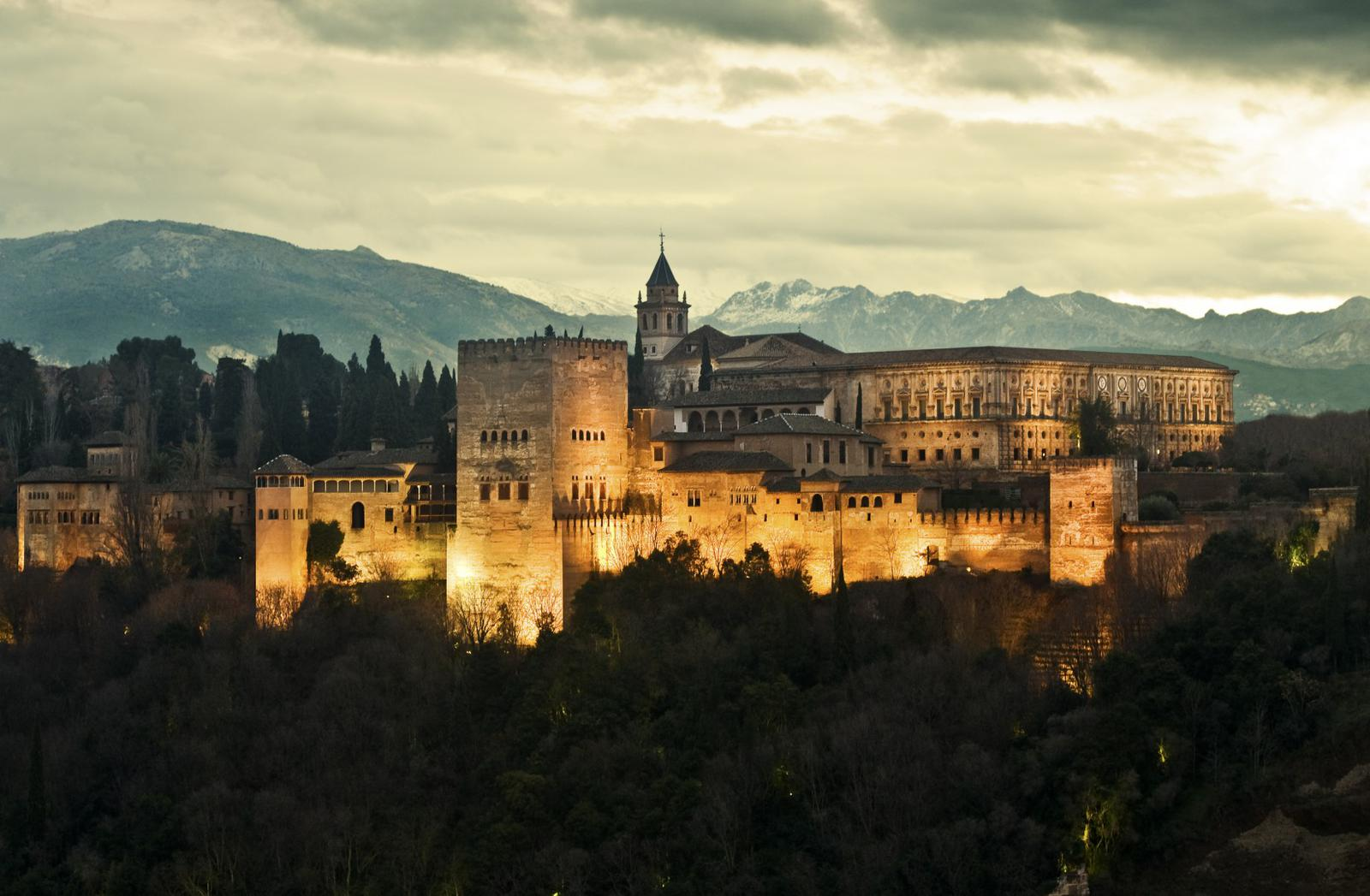 que ver en España La Alhambra de Granada
