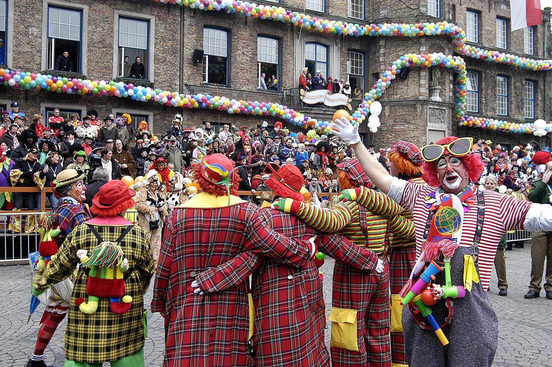 Pasacalles del Carnaval de Düsseldorf © TMD