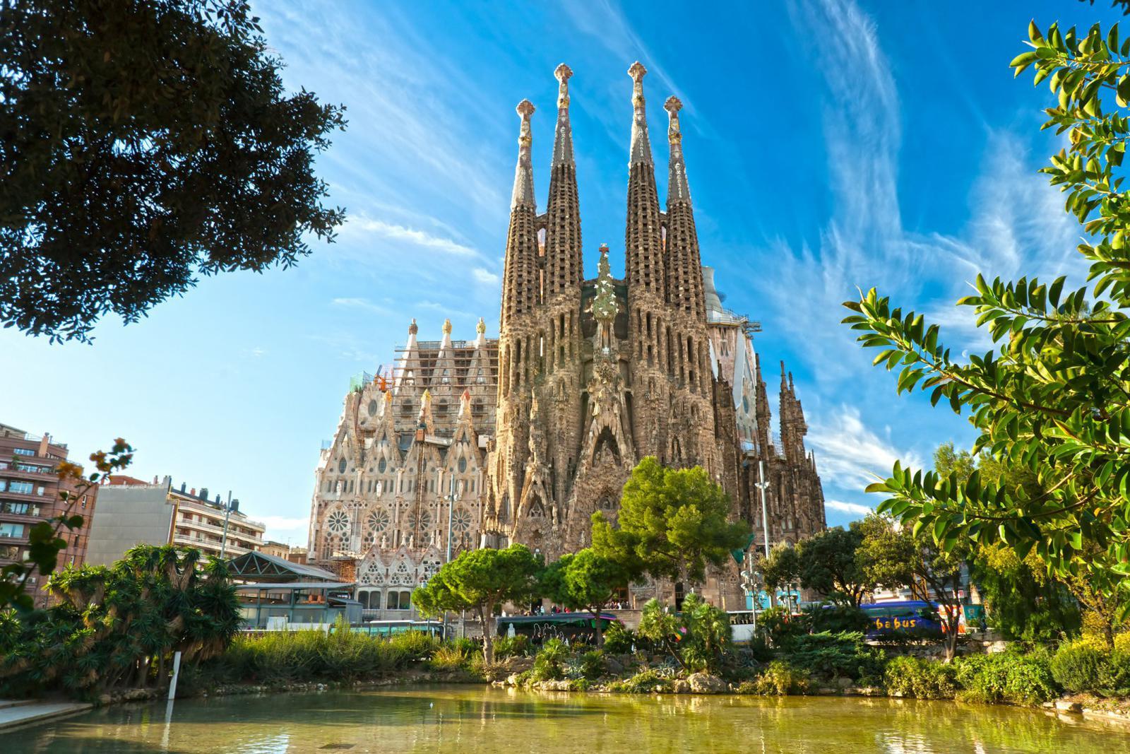 que ver en España La Sagrada Familia de Barcelona