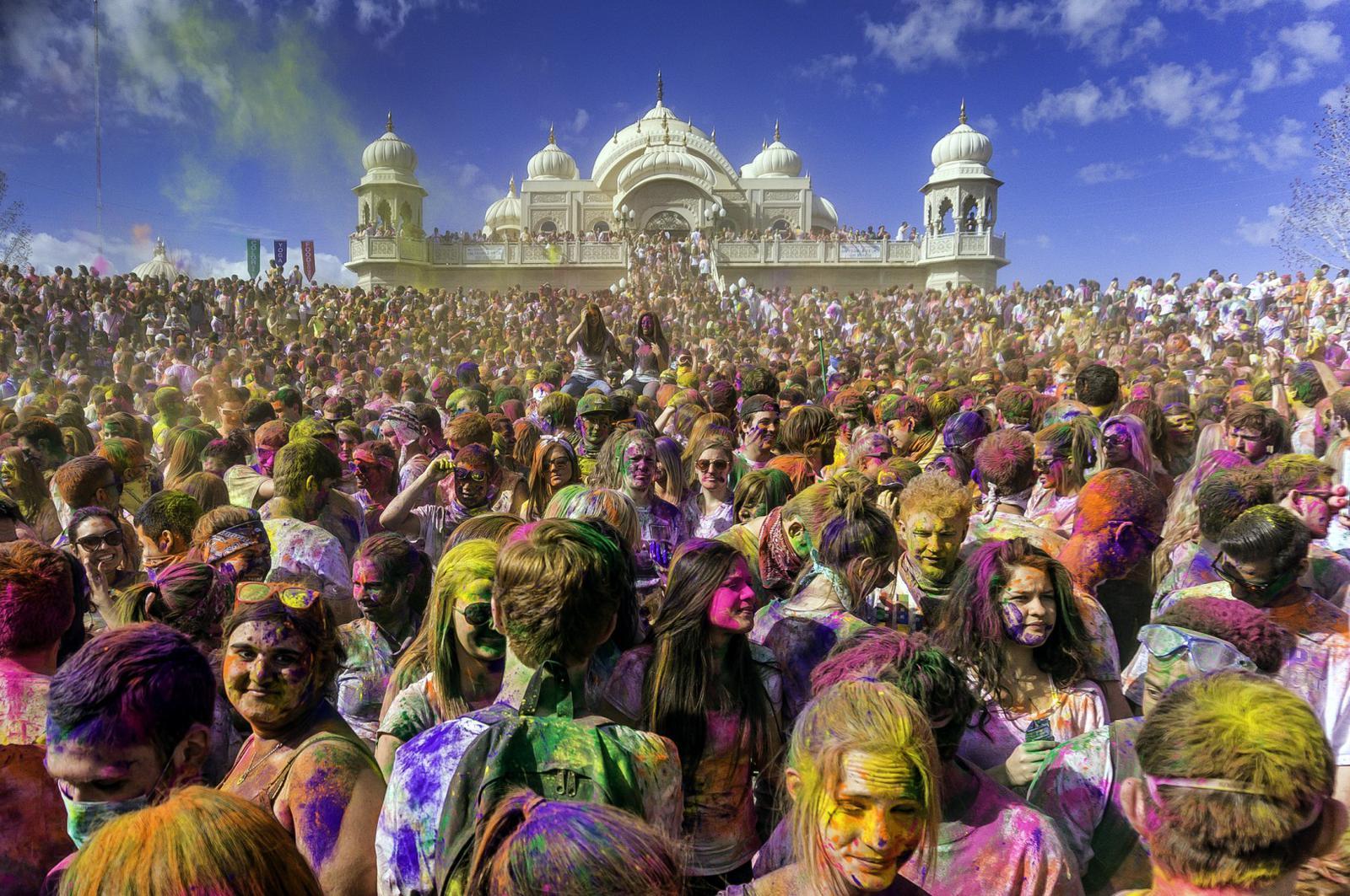 fiestas del mundo Festival Holi