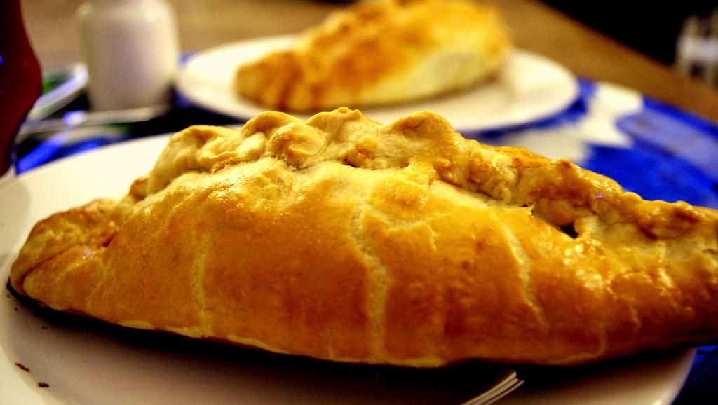 cultura celta Cornish pastries (empanadas de Cornualles).