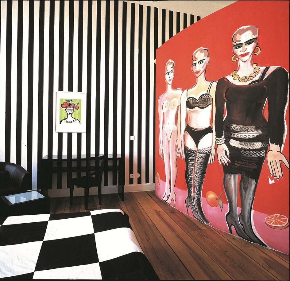 hoteles para artistas