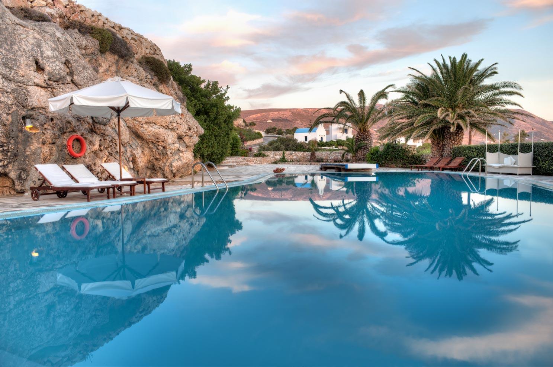 hoteles con piscina en Grecia Hotel Pros Agnanti