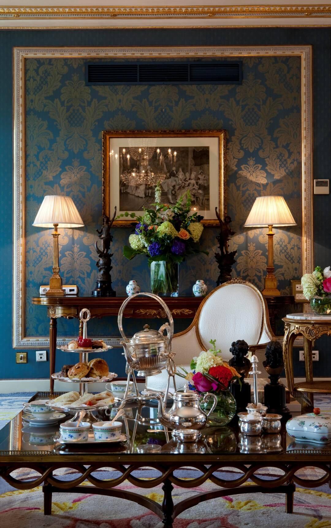 galerías velvet y el hotel ritz Detalle te Ritz