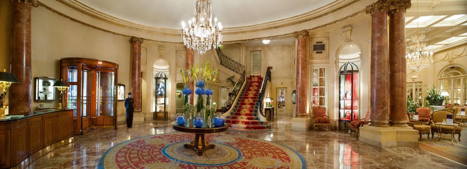 galerías velvet y el hotel ritz Lobby Ritz