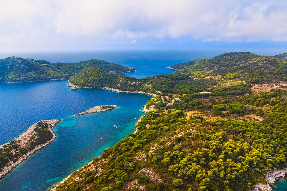 mejores playas de croacia Dubrovnik Croacia Isla Mljet