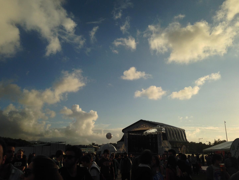 Los cielos se despejaban para la tercera jornada del PortAmerica