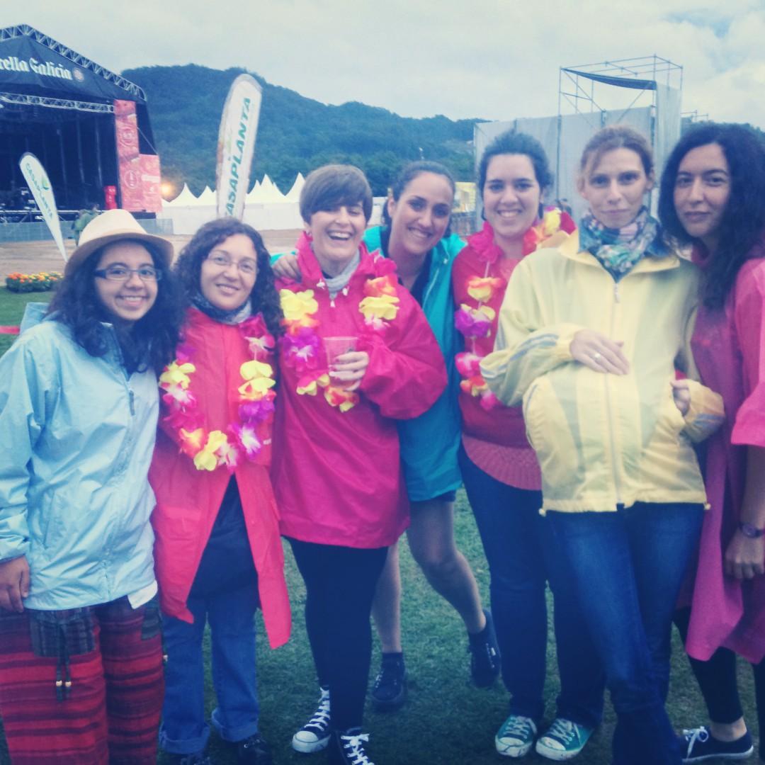 PortAmerica, un #Festivalideal lleno de chubasqueros de colores