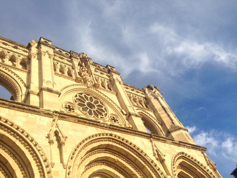 fachada catedral cuenca gotica