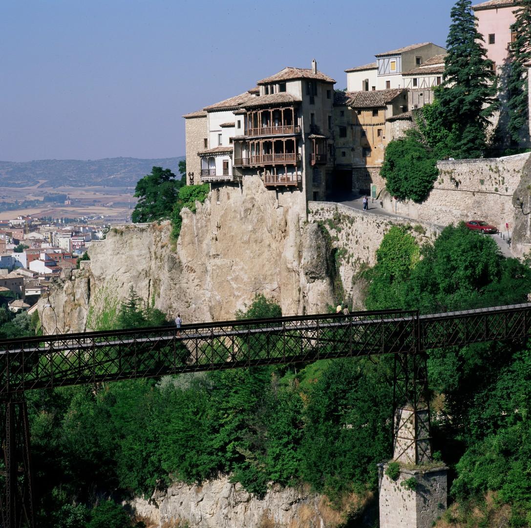 Vistas desde el parador de Cuenca